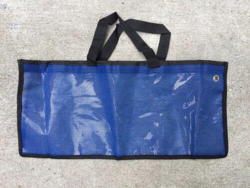 "BLUE SPREADER BAR DREDGE BAG LURE FISHING OFFSHORE TACKLE STORAGE 19 /""x 9/"""