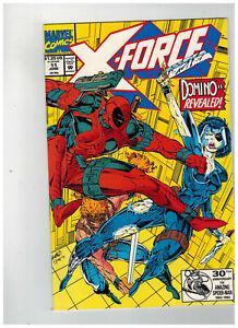 X-FORCE-Vol-1-11-1st-Printing-DEADPOOL-DOMINO-1992-Marvel-Comics