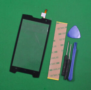 Black Touch Screen Digitizer Glass Panel For Cubot King kong Replacement parts