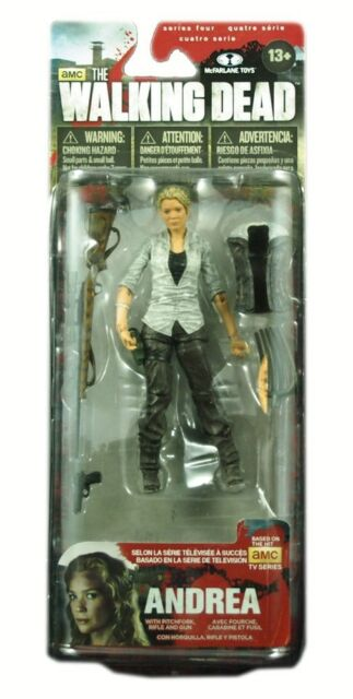 McFarlane toys, The Walking Dead TV Series 4 Action Figure, Andrea, New