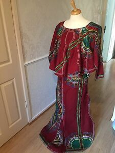 AFRICAN-Mali-WRAP-amp-Top-3pieces-fishtail-style