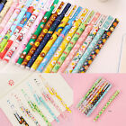 6PCS Cute Little Korean Stationery Watercolor Pen Gel Pens Set Color Kandelia