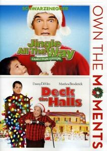 Jingle-All-the-Way-Deck-the-Halls-2-Disc-DVD-NEW