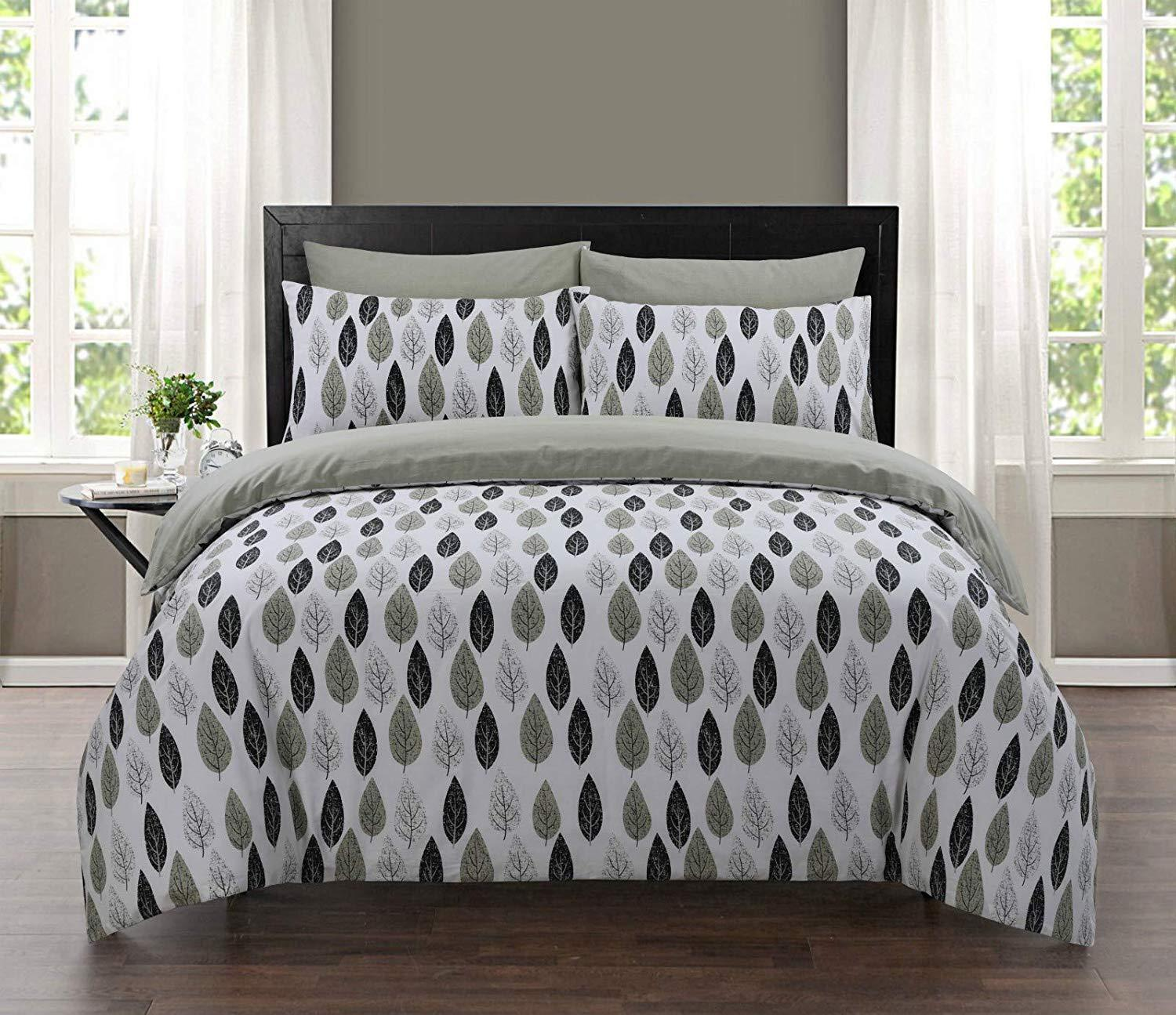100% High Quality Cotton King Size Bedding Set Duvet Quilt Cover And Pillowcases