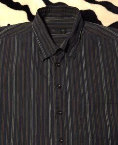 Men-039-s-gt-gt-Shirt-gt-gt-Scott-Barber-gt-gt-Size-XL-gt-gt-Long-Sleeve-gt-gt-Button-Down-gt-gt-100