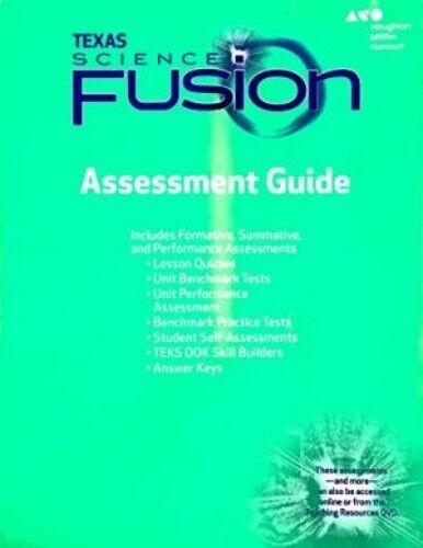 grade 7 science fusion texas assessment guide with answer key 2015 rh ebay com Theme Worksheets 4th Grade Houghton Mifflin Social Studies