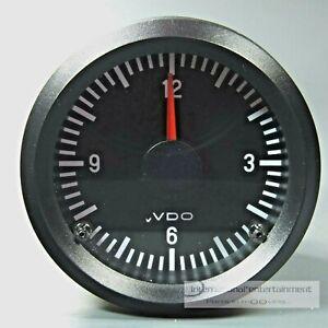 VDO-QUARZ-UHR-ZEITUHR-ELECTRIC-CLOCK-INSTRUMENT-ANZEIGER-12V-52mm