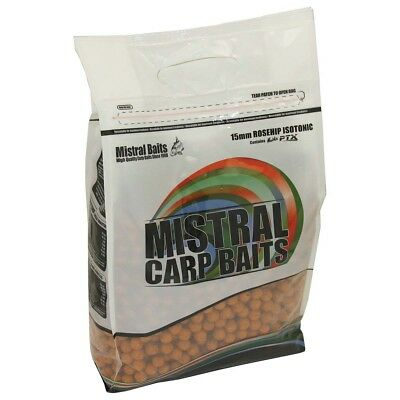 Mistral Baits Chocolate /& Vanilla 15mm 5KG Boilies FREE P/&P Special Edition