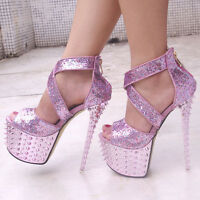 noble prom gorgeous paillette studded spike women wedding