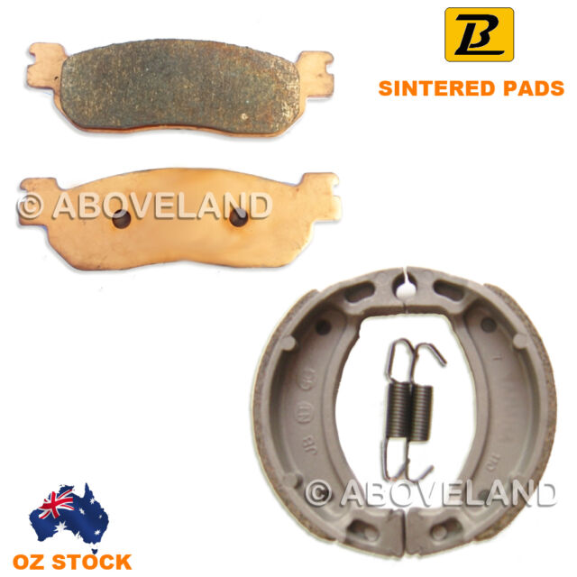FRONT REAR Sintered Brake Pads Shoes for YAMAHA FIZ 1997-