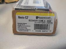 Universal B234SR120M 34 Watt 2 Lamp F34T12 Rapid Start Fluorescent Ballast