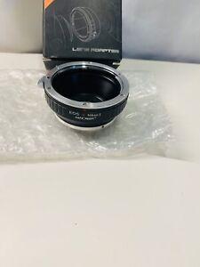 Canon EOS EF EF-S mount lens to Nikon 1 mount J1 J2 J3 V1 V2 N1 Camera Adapter