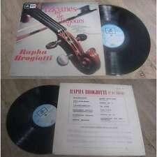 RAPHA BROGIOTTI - Tziganes de Toujours Rare French LP Emi Columbia Folk