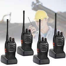 4 x Baofeng Walkie Talkie UHF 400-470MHZ 2-Way Radio 16CH BF-888S Long Range ED