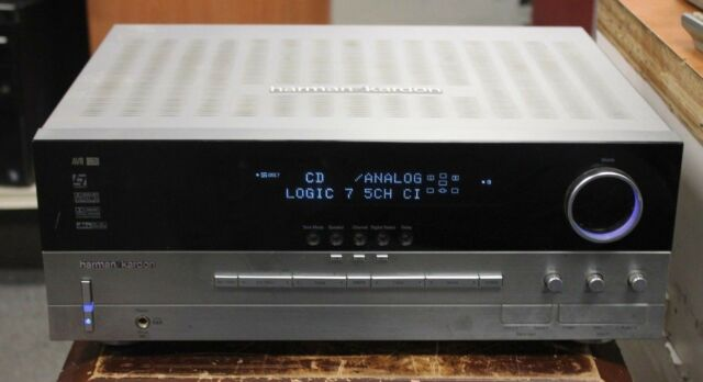 Harman/Kardon AVR 335 7 1 Channel 385 Watt Receiver AS IS