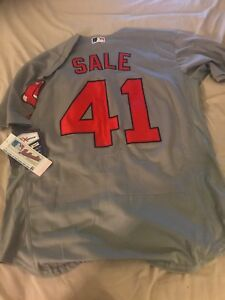 official photos 9b6fc 3c4b8 Details about Chris Sale Boston Red Sox Majestic Jersey Flex Base Men's  M-2XL $300 Gray