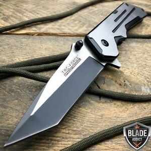 8-034-TAC-FORCE-Spring-Assisted-TACTICAL-TANTO-Folding-Blade-Open-Pocket-Knife-NEW