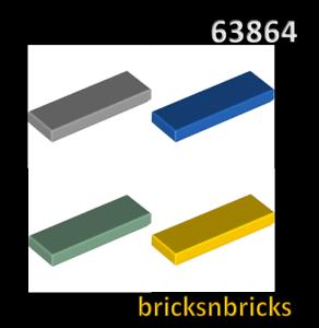 LEGO 63864 Tile 1 x 3Various Colours
