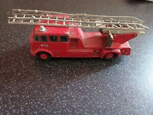 Vintage-Collectable-MATCHBOX-Kingsize-Merryweather-Fire-Engine-No-15-By-Lesney
