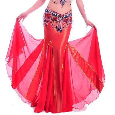C91404 Danza Del Ventre Costume Belly Dance Danza Gonna Rock- Carattere Aromatico E Gusto Gradevole