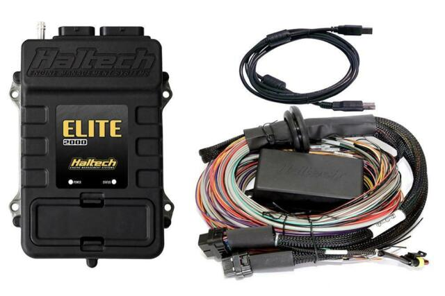 Haltech Elite 2000 + Premium Universal Wire in Loom Kit 2.5m