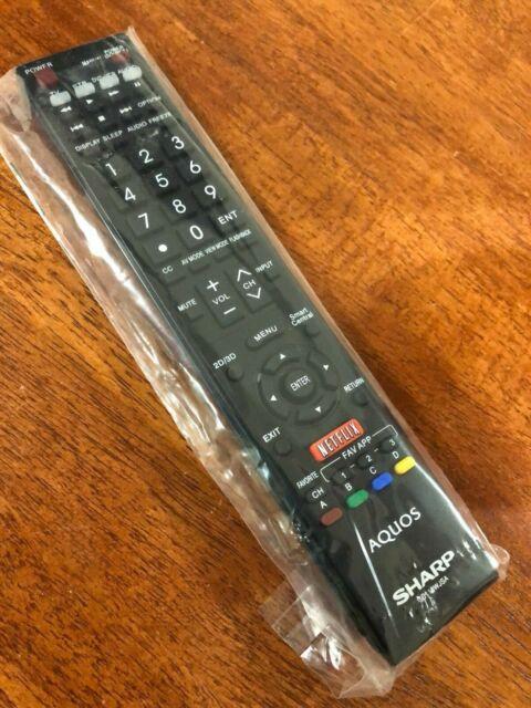 SHARP GB118WJSA TV Remote Control LC-80UQ17U LC-70UQ17U LC-60UQ17U LC-70EQ10U