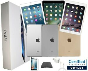 Apple-iPad-Air-2-9-7in-Space-Gray-Silver-Gold-WiFi-OR-Verizon-AT-amp-T-T-Mobile
