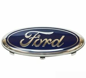 NEW-FORD-FIESTA-mk5-01-08-FRONT-CENTER-GRILLE-OVAL-FORD-BADGE-EMBLEM