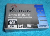 3m Imation 4mm Dds-90 Data Tape Digital Storage Black Watch 4gb - New, Sealed