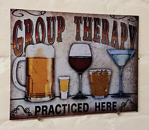 group-therapy-beer-Retro-metal-Aluminium-Sign-vintage-bar-pub-man-cave-signs