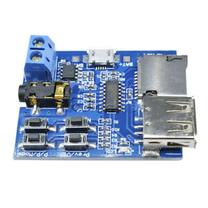Formato-MP3-Scheda-TF-U-DISK-DECODER-amplificatore-Board-Modulo-decodifica-un-lettore-audio