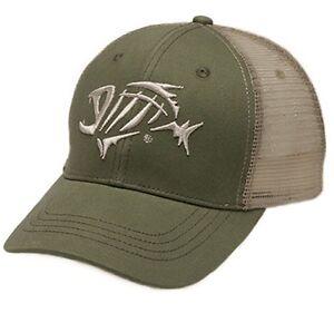 G Loomis Logo Bandit Tucker Hat Green Tan Mesh Fishing