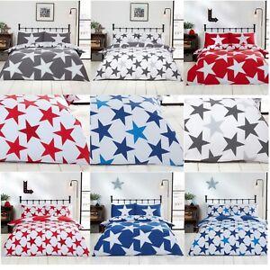 All Stars Duvet Cover Set Etoile Teenager Boys Quilt Kids Bed Linen Bedding Set Ebay