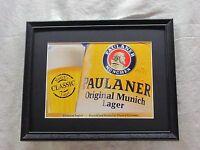 Paulaner Original Munich Lager Beer Sign 1277