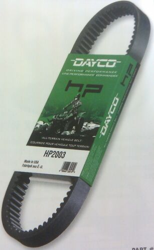 DAYCO HP ATV DRIVE BELT POLARIS SPORTSMAN,SCAMBLER 500,600/&700 TWIN4X4 2002-2006