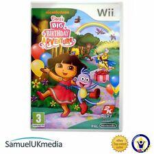 Dora'S Grande Avventura di Compleanno (Wii) ** ottime condizioni **