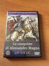 LE CONQUISTE DI ALESSANDRO MAGNO LE GRANDI BATTAGLIE DELL'ANTICHITA  DOC DVD