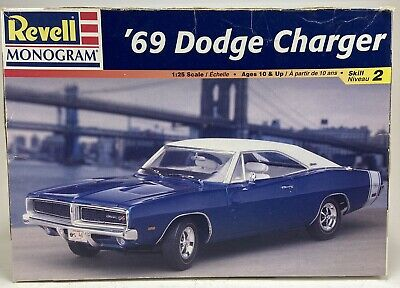 vintage 1998 revell monogram 1969 dodge charger 85 2546 model kit nib 31445025464 ebay ebay