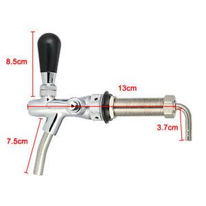 Draft-Beer-Short-Shank-Faucet-Tap-G5-8-Shank-Brew-Adjustable-Flow-Control