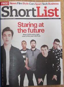 Brit List 2015  Gomorrah  Shortlist magazine  13 November 2014 - <span itemprop='availableAtOrFrom'>Northolt, Middlesex, United Kingdom</span> - Brit List 2015  Gomorrah  Shortlist magazine  13 November 2014 - Northolt, Middlesex, United Kingdom