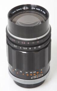 Details about Canon 135mm f2 5 Lens, FD Mount