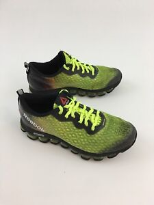 reputable site c7241 711e4 ... clearance image is loading reebok jetfuse athletic training shoes neon  green black 3b5ae 36290