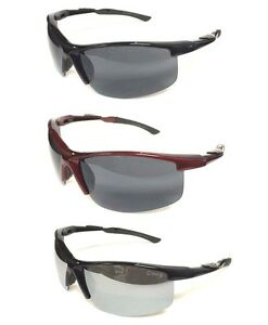 Mens-Sports-Sunglasses-Smoke-Mirrored-Lens-Great-Outdoors-Summer-NE2816-multi