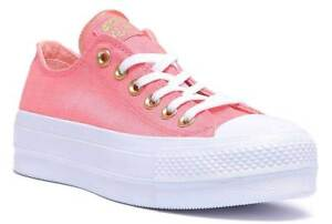 converse rosa platform