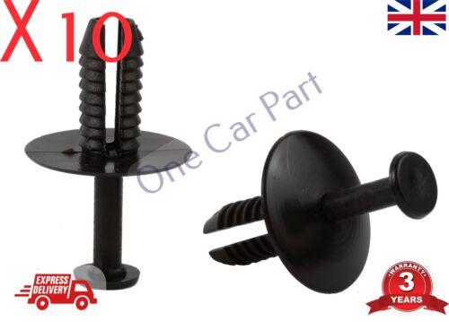 10x Clips para BMW en expansión-Recorte Clip de plástico parachoques Alféizares faldas y cubiertas