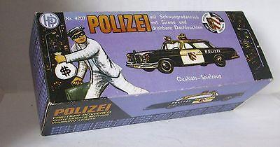 Gerade Repro Box Hp Nr.4207 Polizei Mit Schwungrad Weder Zu Hart Noch Zu Weich Spielzeug