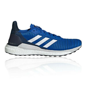 Blue adidas Solar Drive ST Boost Mens Running Shoes