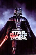 Star Wars Saga ALL Season 1-6 Complete DVD Set Collection Series TV Show Box Lot