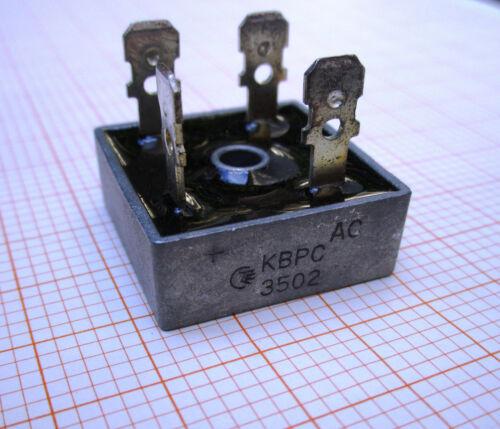 CTE  Metallgehäuse RMS 140V KBPC3502    Brückengleichrichter 200V//35A