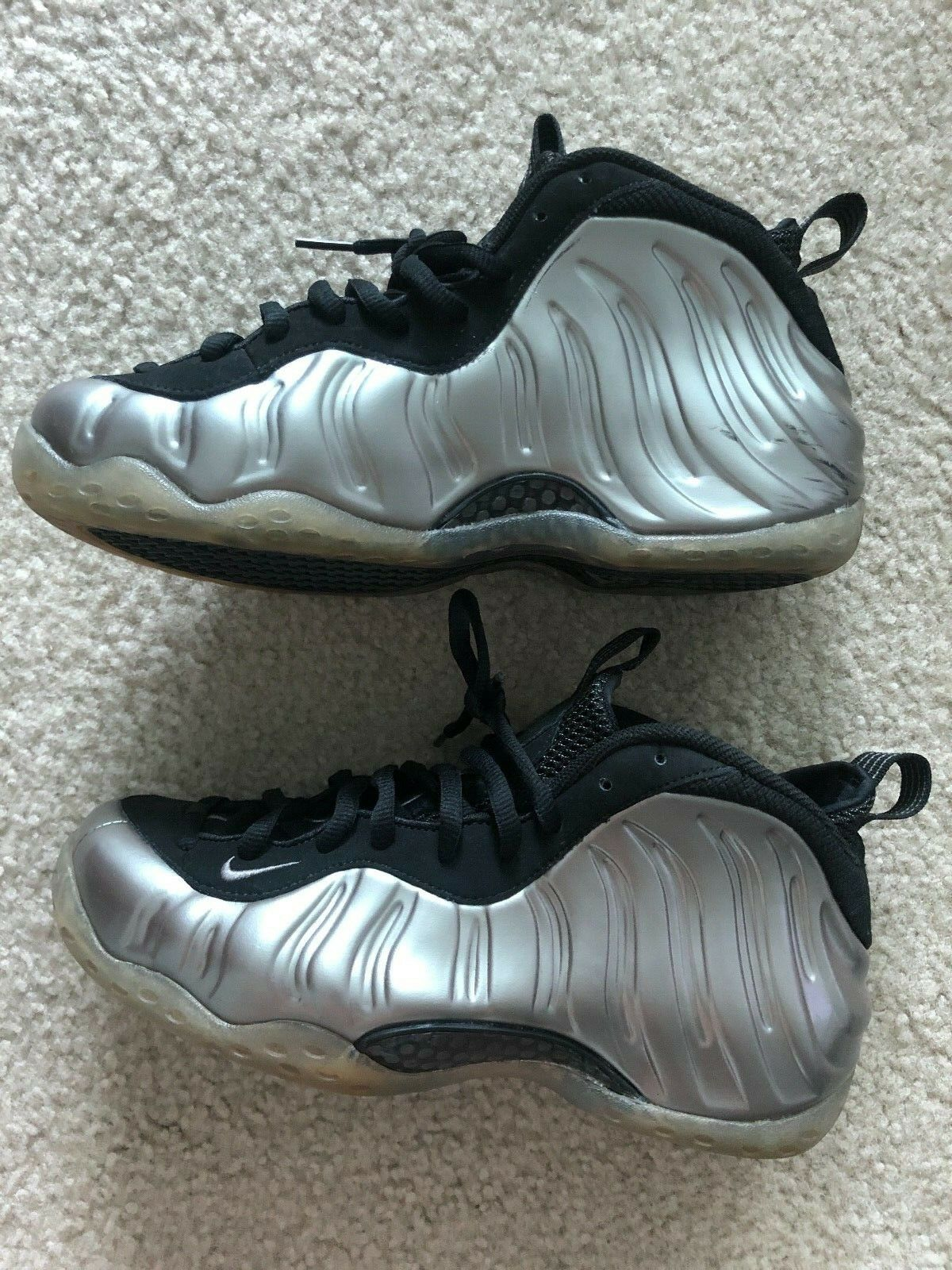 Nike Air Foamposite One  Pewter  Sz 8.5